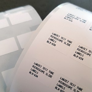 Test Tube Labels for Labjet BLX-100 Printers